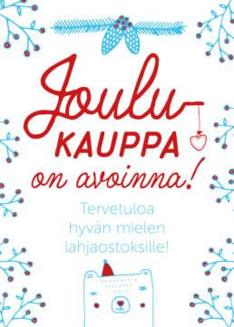 joulukauppa_kuvitus_illustration_poster