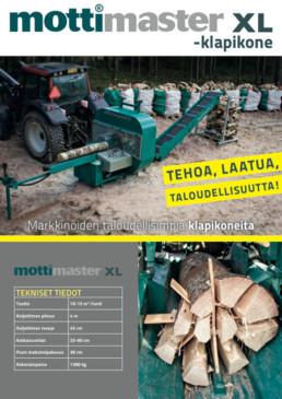 Holmet Mottimaster XL-klapikone esitetaitto